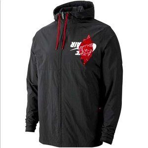 """Nike Air Jordan """"legacy retro AJ"""" windbreaker"""